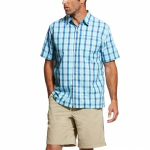 Ariat Mens Tek Short Sleeve Solitude Shirt