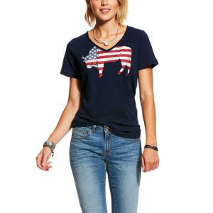 Ariat Ladies American Buffalo Tee