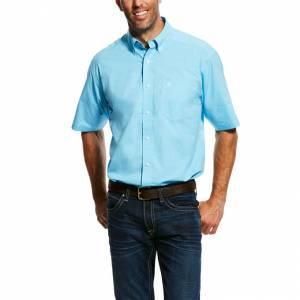 Ariat Mens Marino Short Sleeve Stretch Performance Shirt