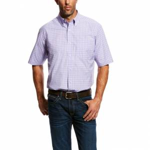 Ariat Mens Mignano Short Sleeve Performance Shirt