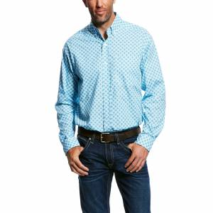 Ariat Mens Moran Long Sleeve Print Shirt