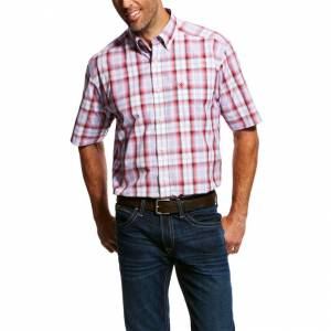 Ariat Mens Mowery Short Sleeve Performance Shirt