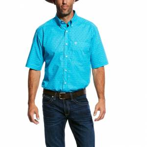 Ariat Mens Newburn Short Sleeve Print Shirt