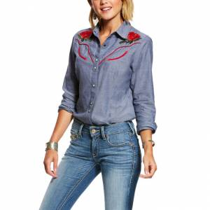 Ariat Ladies REAL Lively Snap Shirt