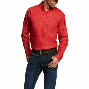 Ariat Mens Munson Long Sleeve Print Shirt