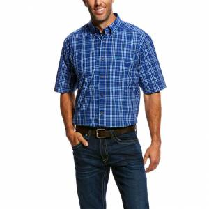 Ariat Mens Narciso Short Sleeve Performance Shirt