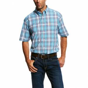 Ariat Mens Nathans Short Sleeve Performance Shirt