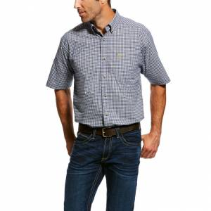 Ariat Mens Natola Short Sleeve Stretch Performance Shirt