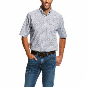 Ariat Mens Neeson Short Sleeve Print Shirt