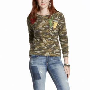 Ariat Ladies Camo Patch Print