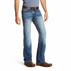 Ariat Mens M7 Rocker Cooper TEKstretch Boot Cut Jeans