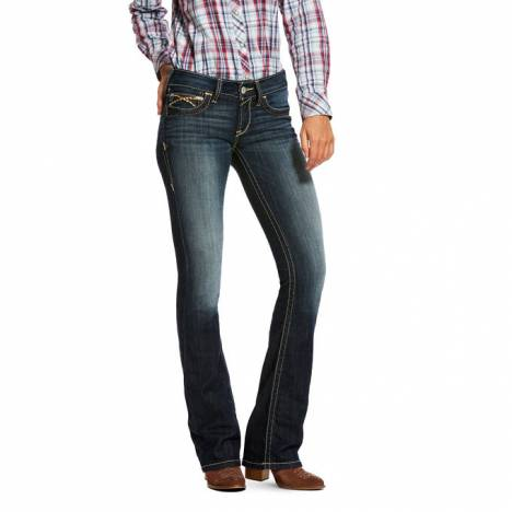 Ariat Ladies REAL Low Rise Boot Cut Vine Jeans