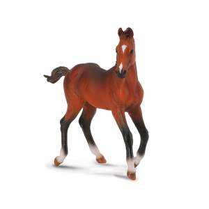 Breyer by CollectA - Bay Quarter Horse Foal