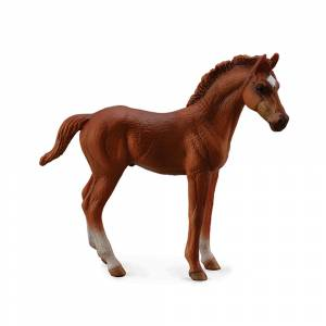 Breyer by CollectA - Chestnut Thoroughbred Foal - Standing