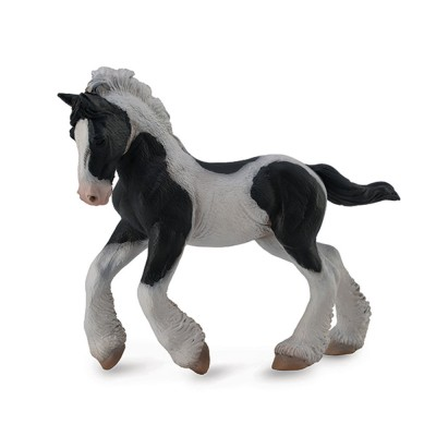 Breyer by CollectA - Black & White Piebald Gypsy Foal