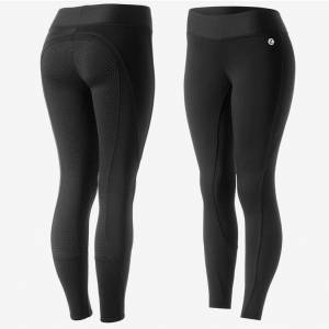 Horze Ladies Active Winter Silicone Full Seat Tights