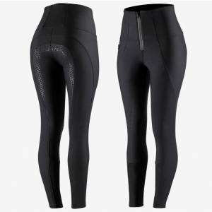 Horze Ladies Lydia Thermo Softshell Silicone Full Seat Breeches
