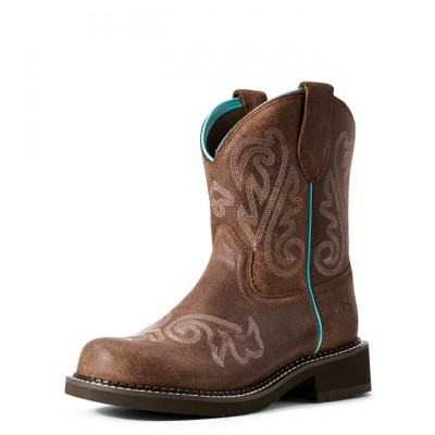 Ariat Ladies Fatbaby Heritage Heavenly Boots