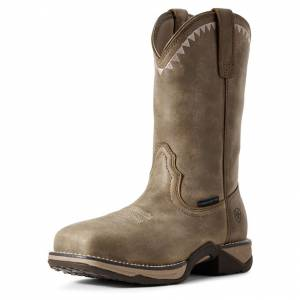 Ariat Ladies Anthem Deco Square Composite Toe Work Boots