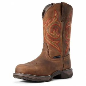 Ariat Ladies Anthem Round Composite Toe Work Boots