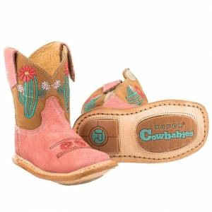 Roper Infant Cowbaby Cactus Square Toe Boots