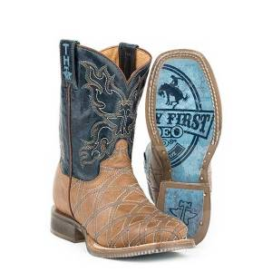 Tin Haul Kids Boots - Whats Your Angle, Not My First Rodeo
