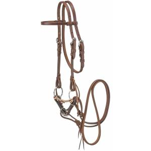 Tough1 Mini Headstall with Wire Snaffle Bit