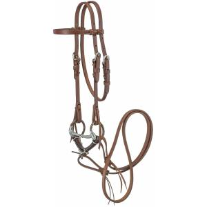 Tough1 Mini Headstall with Offset Dee Bit