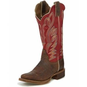 Justin Ladies Bent Rail Katia Square Toe Boots