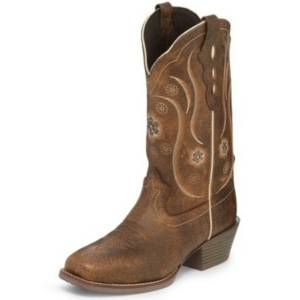 Justin Ladies Jessa Narrow Square Toe Boots