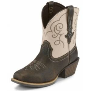 Justin Ladies Chellie Quake Narrow Square Toe Boots