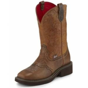 Justin Ladies Starlina Square Toe Boots