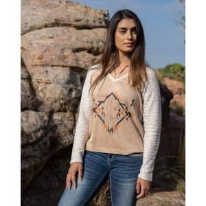 Outback Trading Ladies Moonie Tee