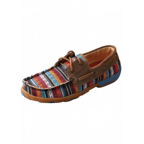 Twisted X Ladies Boat Shoe Driving Mocs