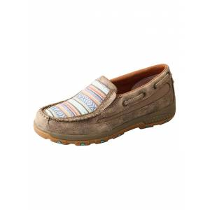 Twisted X Ladies Boat Shoes with CellStretch