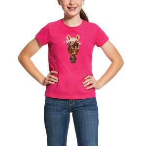Ariat Kids Sequin Trigger Short Sleeve T-Shirt