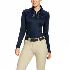 Ariat Ladies Sunstopper Piaffe 2.0 1/4 Zip Shirt