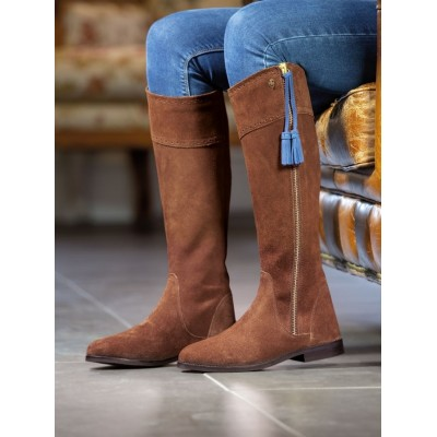 Shires Ladies Moretta Florenza Tall Suede Boots