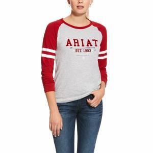 Ariat Ladies Logo Flock Tee