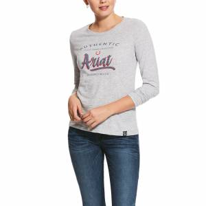Ariat Ladies Script Logo Long Sleeve T-Shirt