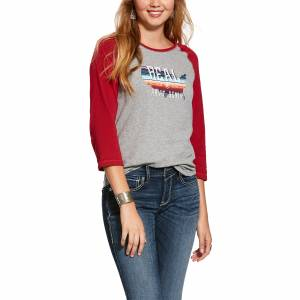 Ariat Ladies R.E.A.L. American 3/4 Sleeve Shirt