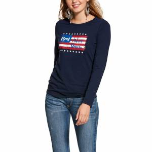 Ariat Ladies REAL Long Sleeve T-Shirt