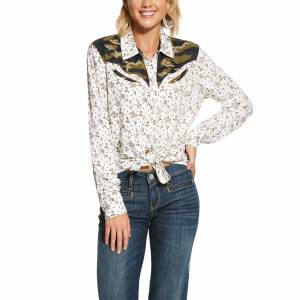 Ariat Ladies Buckaroo Babe Shirt
