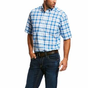 Ariat Mens Obarra Short Sleeve Performance Stretch Shirt