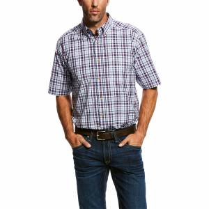 Ariat Mens Obispo Short Sleeve Performance Shirt