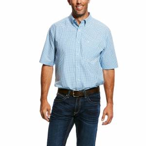 Ariat Mens Oborne Short Sleeve Performance Shirt