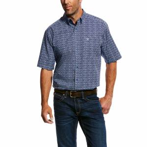 Ariat Mens Octavio Short Sleeve Print Shirt