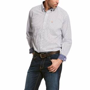 Ariat Mens Wrinkle Free Vaness Classic Long Sleeve Shirt
