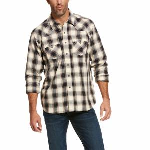 Ariat Mens Kaiser Retro Fit Long Sleeve Snap Shirt
