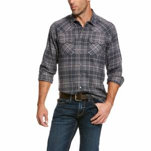 Ariat Mens Karlsen Retro Fit Long Sleeve Snap Shirt